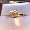 Spilt Prong Yellow Gold Solitaire Mounting, by Stuller 6