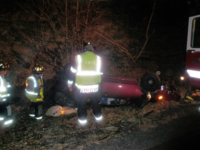 FOSTER TOWNSHIP MM114 INTERSTATE 81 VEHICLE ACCIDENT 11-6-2009 PICTURES BY COALREGIONFIRE