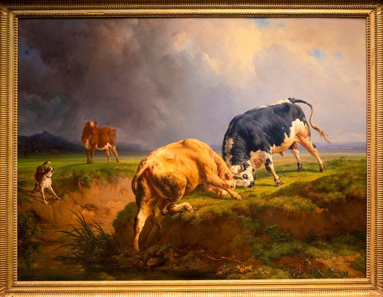 Jacques-Raymond Brascassat: A Bullfight, 1855