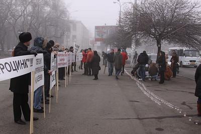Vladikavkaz 2009 Elektrozink Protest