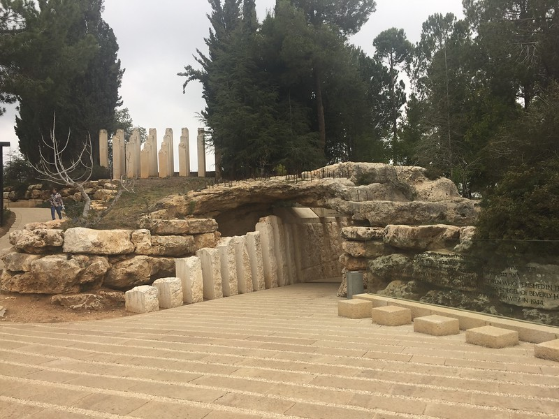 Garden at ad Vashem, the World Holocaust Remembrance Center - Bridget St. Clair