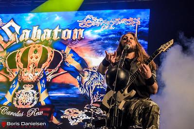 Sabaton @ Tons Of Rock Festival 2017.