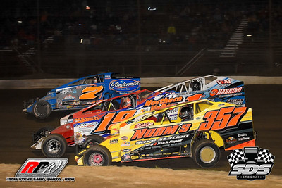Grandview Speedway - 6/22/19 - Steve Sabo (SDS)