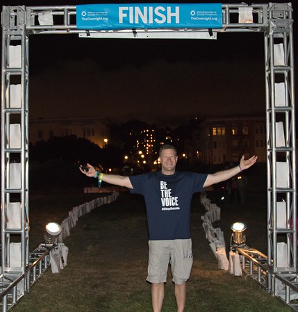 2016 Out of the Darkness Overnight Walk  in San Francisco