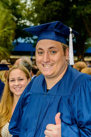 Ben's First Graduation from UNF 2012