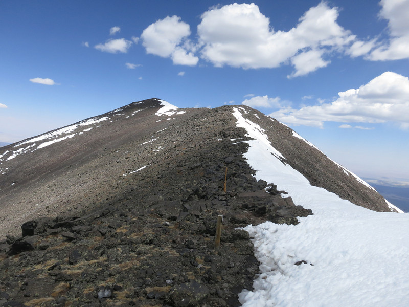Summit in view.