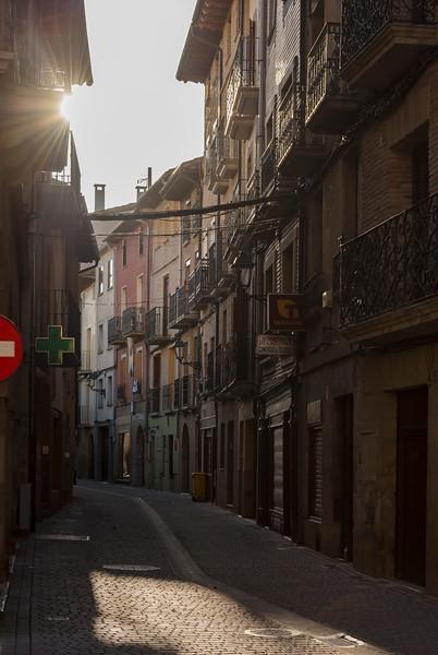 Early morning in Puente La Reina