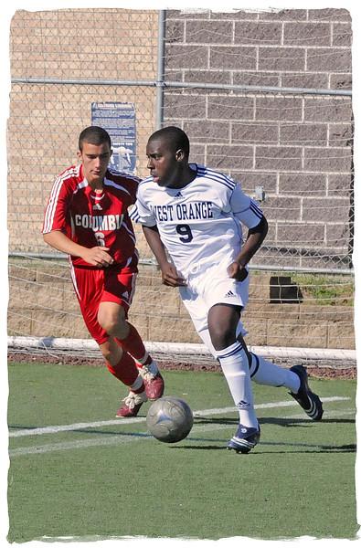 Boys Soccer vs, Columbia