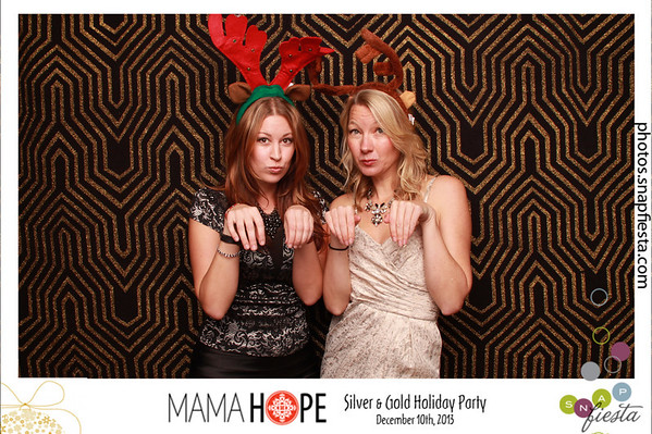 Mama Hope's Silver & Gold Holiday Party, December 10th 2013