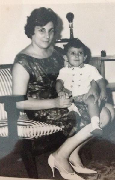 Sra. do Braga e filho Nuno