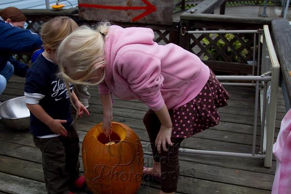 Pumpkin Carving - 2011
