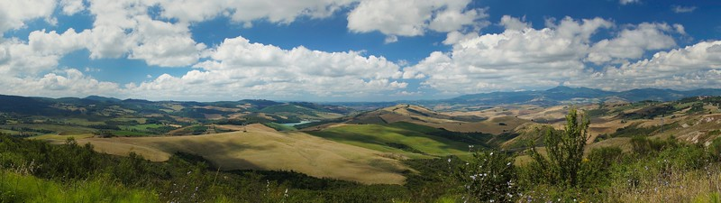 Toscany country side