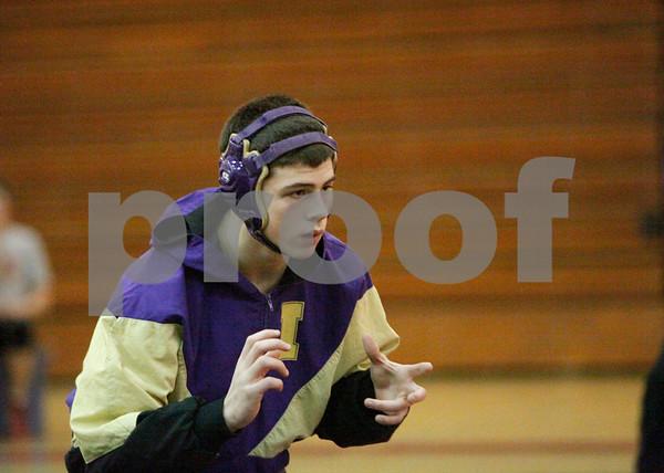 2012-12-06 IHS Wrestling vs Newport (50-27)