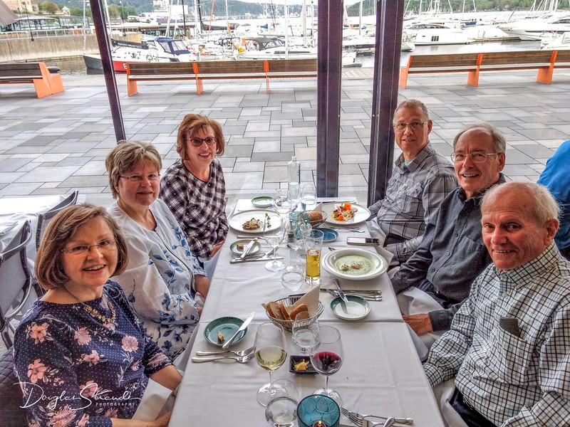 Dinner at Lofoten
