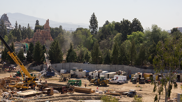 Disneyland Resort, Disneyland, Frontierland, Critter Country, Mickey And Friends Parking Structure, Mickey, Friends, Parking, Structure, Star Wars Land, Star Wars, Rivers Of America, Rivers, River, America