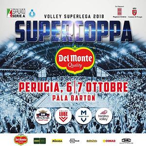 Presentata la Del Monte® Supercoppa 2018