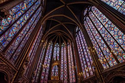 Journey across France: Paris Day 3 Sainte Chappelle