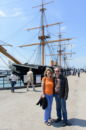 A visit to the Portsmouth Historic Dockyard in June 2015