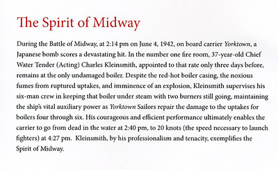 2015 Battle of Midway (73rd) Commemoration at the United States Navy Memorial