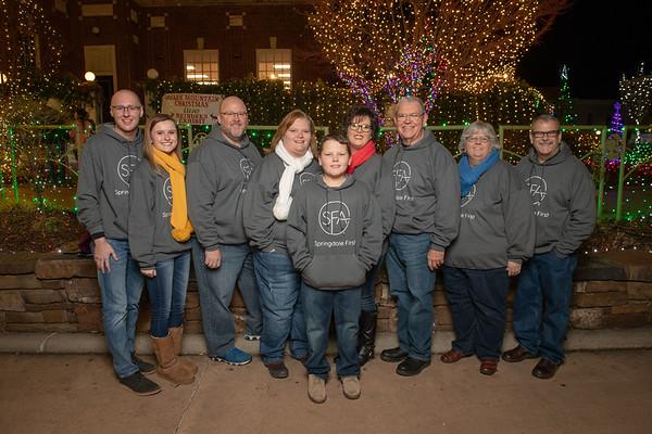 SFA Staff Christmas