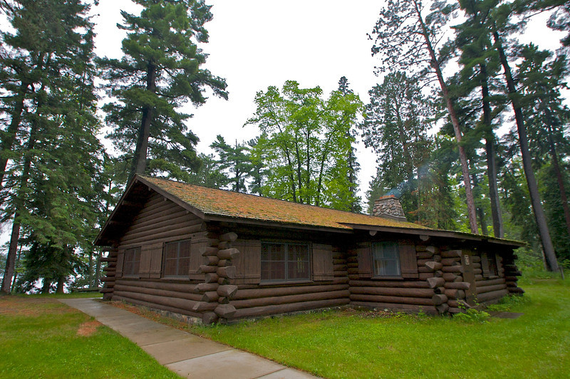 Lodge at Scenic State Park.