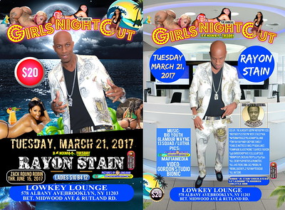 "RAYON STAIN PRESENT HIS ANNUAL ""GIRLZ NITE OUT 2017""(30)"