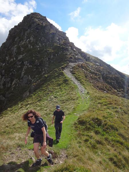 Finally, we made it down onto the ridge