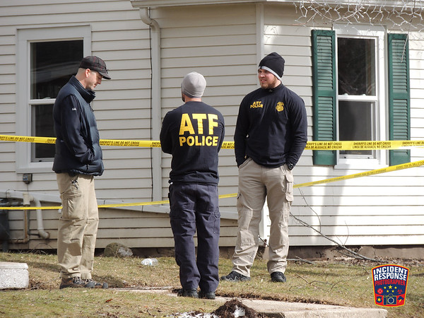 Explosive materials found on February 21, 2016