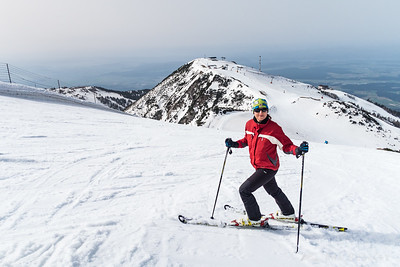 Skiing on Krvavec - Apr 5, 2016