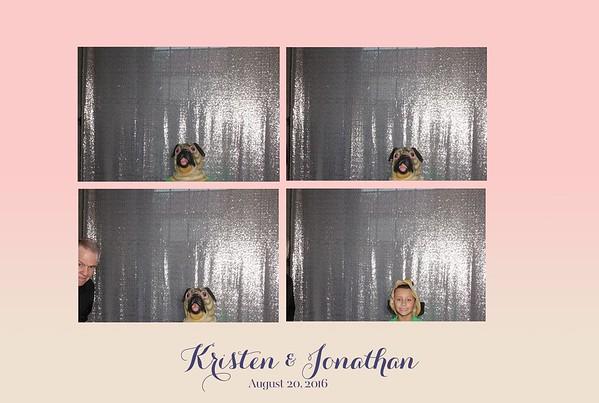 Kristen + Jonathan  =  Open Photobooth