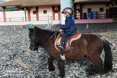 Olivia, Horse riding-Estepona - Colour