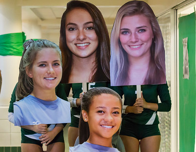 Volleyball Seniors October 3, 2017