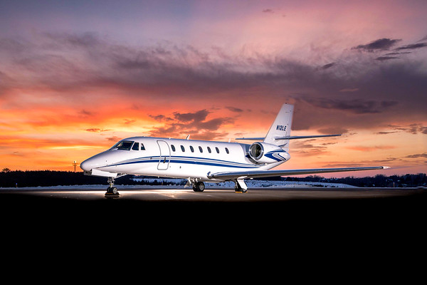 Citation Sovereign N12LE (High Res)