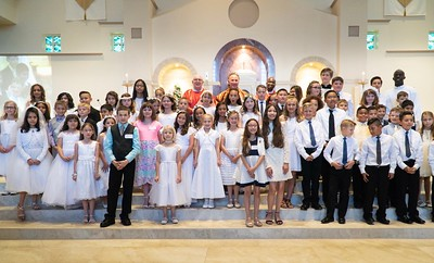 April 22 First Communion/Confirmation Mass