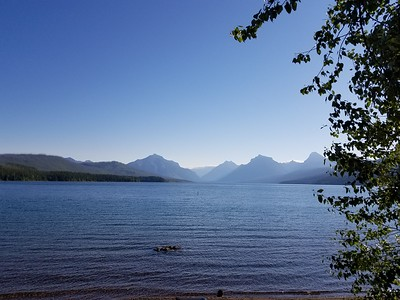 July 24 - Lake McDonald Lodge, Trail of Cedars hike, GTTSR, Many Glacier Hotel