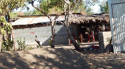 Poverty housing in Las Penitas