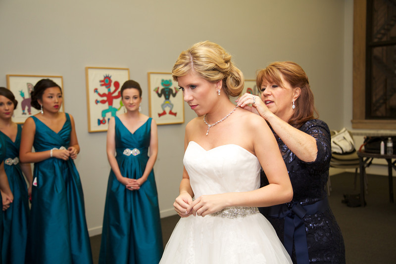 Le Cape Weddings - Chicago Cultural Center Weddings - Kaylin and John - 02 Bride Getting Ready  41