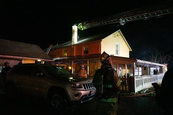 Lafayette Rd - Chimney Fire
