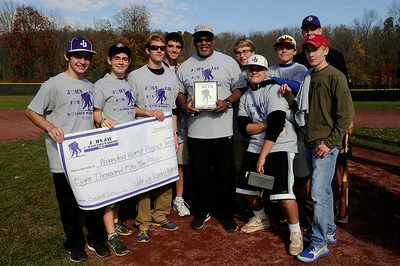 2013 JOHN JAY FOR WOUNDED WARRIORS BASEBALL CLINIC, Nov. 2, 2013