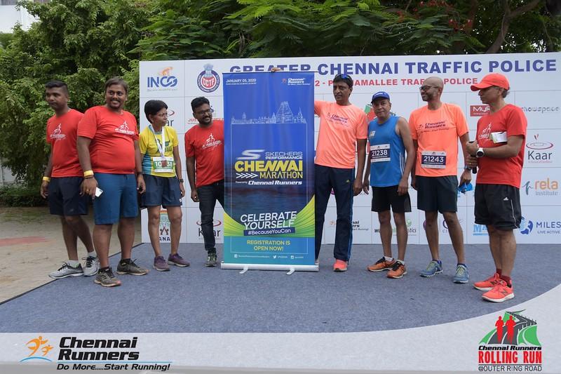 Chennai Runners Rolling Run 2019 - Gallery 2