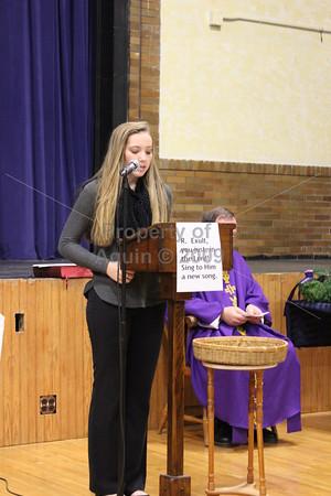 ring ceremony mass . 12.21.16