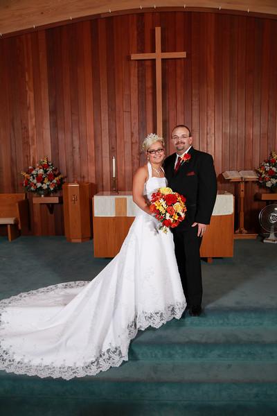 backus wedding 'couple'