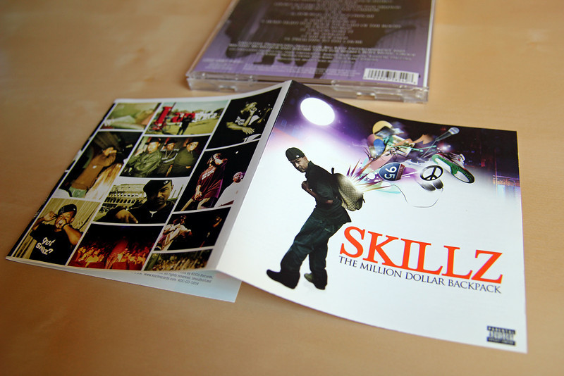 09/04/2012 - Throwback of the skills album cover we worked on