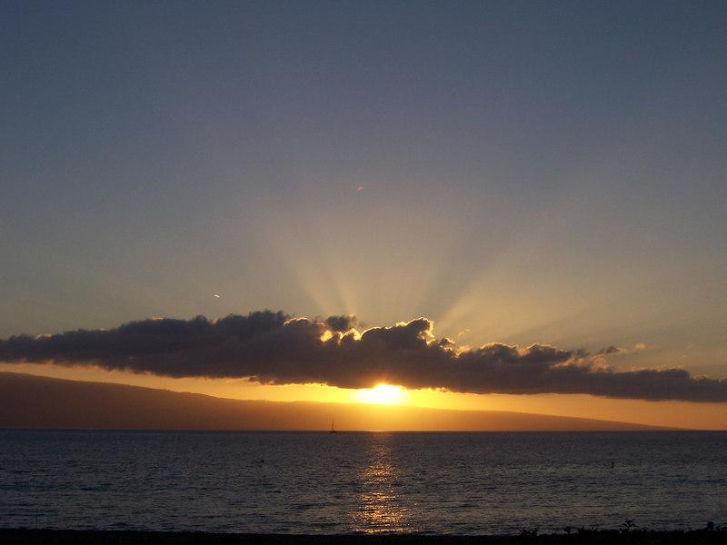Sunset...awesome.