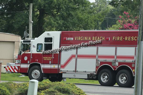 Virginia Beach- 2nd Alarm- 28th and Atlantic- 7/21/15