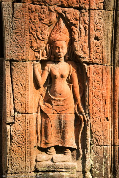 Camboya - Angkor - templo Prasat Kravan