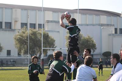 Rugby - Peninsula Green HS Rugby Club - SFGG - Feb 4, 2012