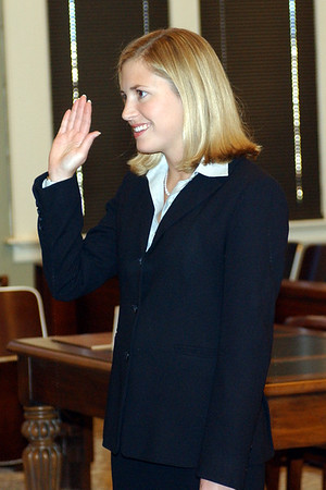 2003 Lisa Fry Sworn In Attorney