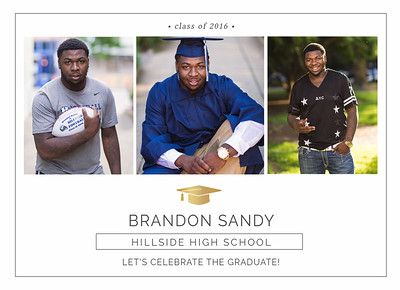Brandon Graduation Announcements