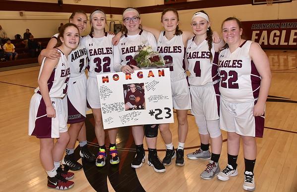 A Sr Moment-Girls Varsity Basketball photos by Gary Baker